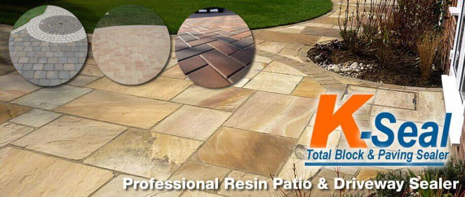 K-Seal Total - Professional resin Patio Sealer