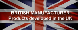 British Manufacturer - Products developed in the UK