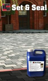 Set &  Seal Block &  Paving Sealer