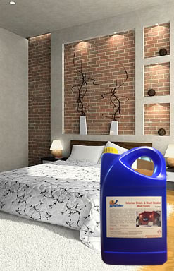 Delightful Interior Brick And Dust Sealer Matt Finish