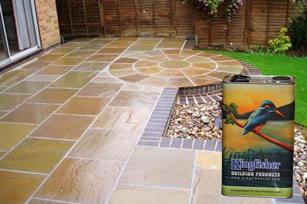 Indian Sandstone Sealer &        Enhancer