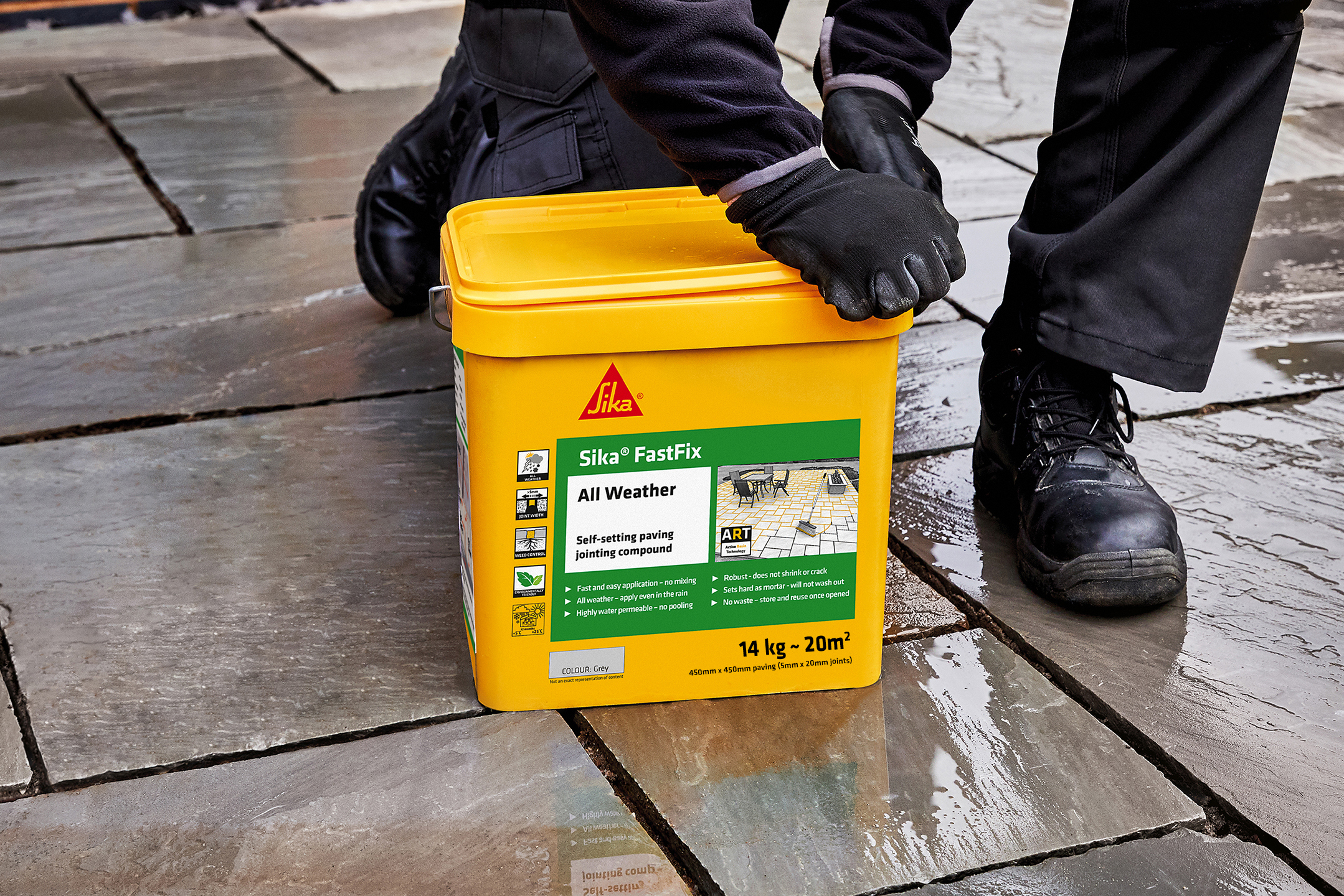 Sika Fast Fix All Weather Paving Joint Compound