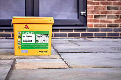 Sika Fast Fix All Weather Paving Joint Compound Buff 15KG