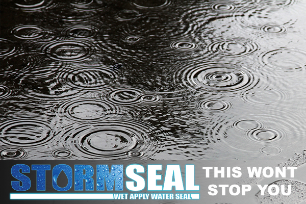 Stormseal - Wet Apply Waterseal