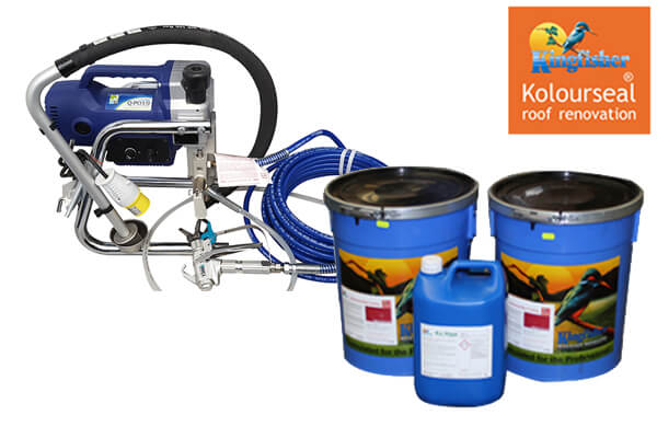 Kingfisher Roof Coating Starter Kit