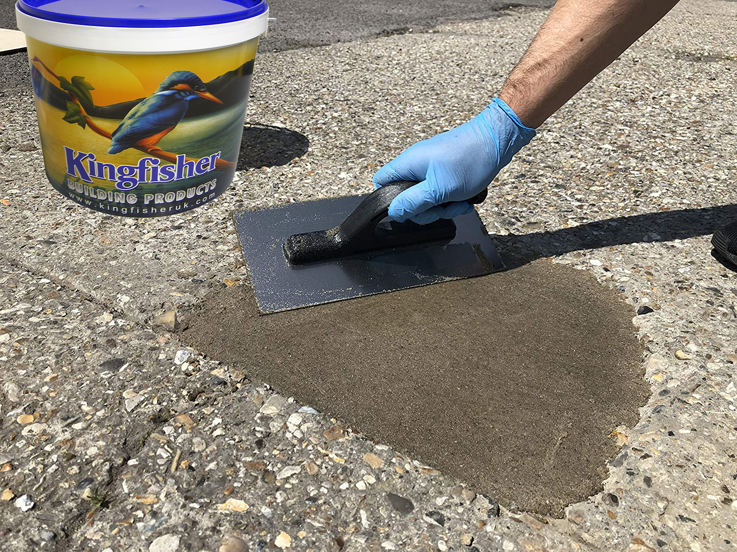 Tuff-Patch Concrete Repair