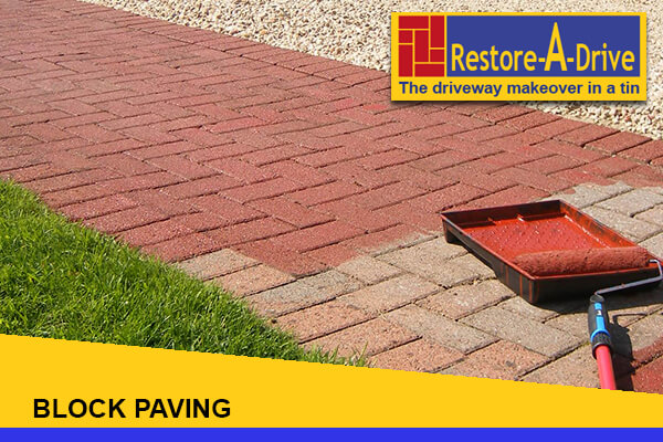 Restore-A-Drive Coloured Block Sealer