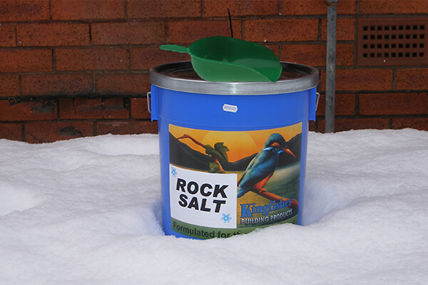 Rock Salt &   Scoop