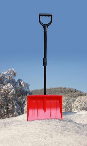 Wide Scoop Telescopic Snow Shovel